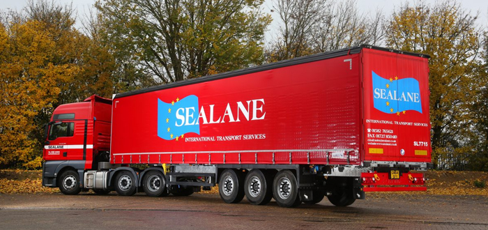 Sealane Freight Selects Schmitz Cargobull's Robust Curtainsiders For Its European Network