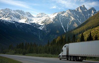 Iveco haulage lorry