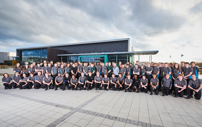 Manufacturing Technology Centre Recruits Engineers Of The Future