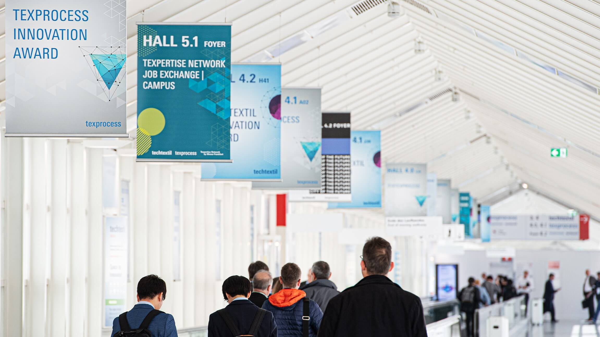 Harding Yarns Supports Suppliers and Customers at Techtextil 2019
