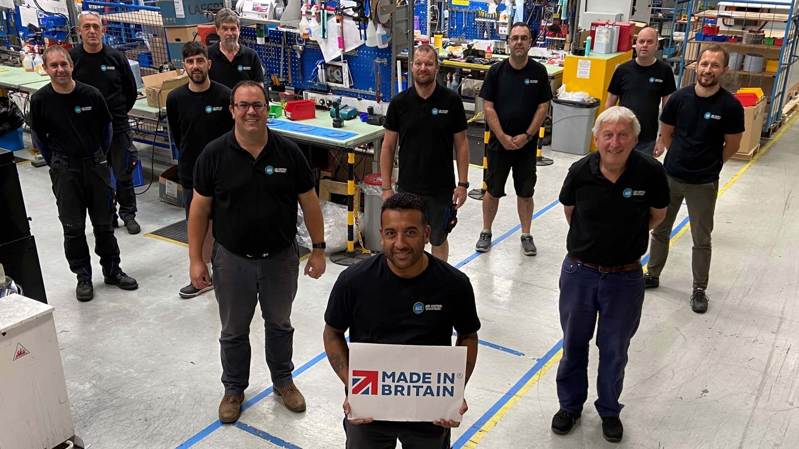 Air Control Industries Flies the Flag for Britain